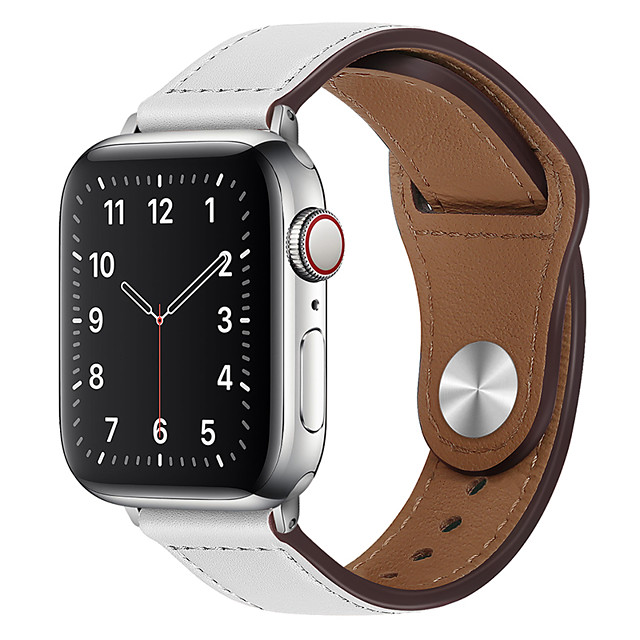 Smart Watch Band for Apple iWatch 1 pcs Modern Buckle PU Leather Replacement  Wrist Strap for Apple Watch Series SE / 6/5/4/3/2/1
