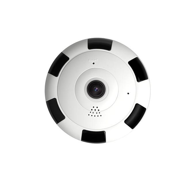 Free Shipping 1080p Hd Mini 360 Degree Panoramic Wifi Wireless Ip Camera Fisheye Night Vision Cámara panorámica inalámbrica