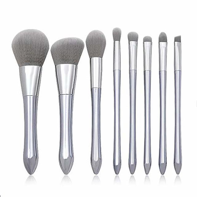 makeup brush makeup brush set cosmetics make up brushes sets 8 pcs professional make up brush set synthetic foundation blending concealer powder cream cosmetics brush sets