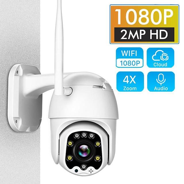 ip camera 5mp surveillance cameras with wifi pan tilt camera outdoor h.265 2mp 4x digital zoom ai body detection