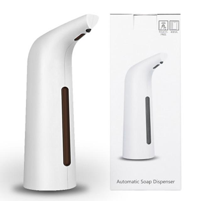 Soap Dispenser Automatic Induction Plastics 200ml Automatic White Induction Soap Dispenser