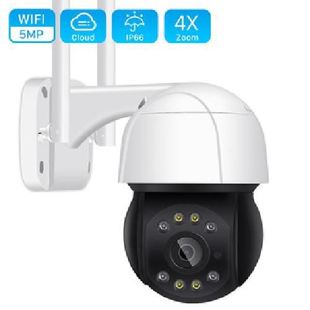 5mp wifi ptz camera h.265 3mp 4x digital zoom human detection ptz ip camera outdoor 2mp auto tracking onvif wireless ip camera