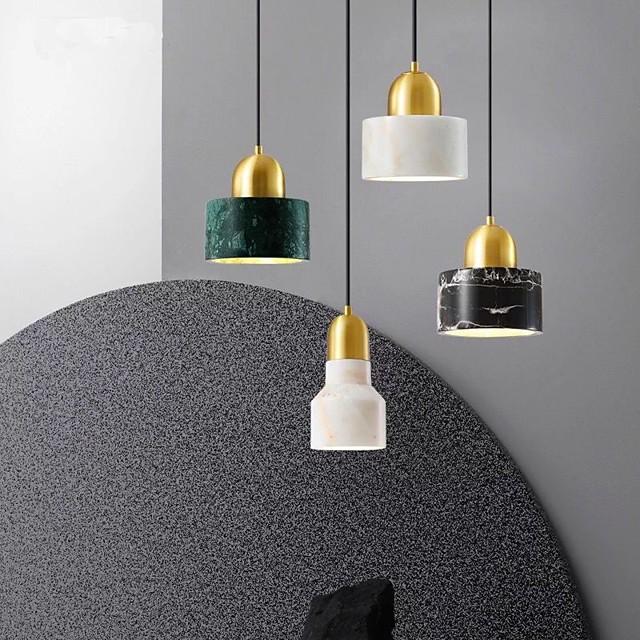 led pendel moderne nordisk 10/15 cm globus design geometriske former vedhæng lys metal kunstnerisk stil klassisk stilfuld galvaniseret moderne nordisk stil 110-120v 220-240v