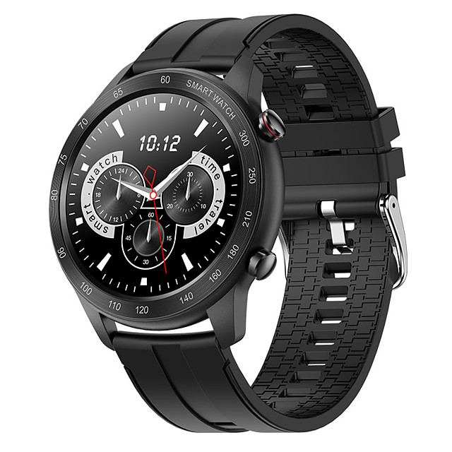 Factory Outlet MX5 Smartwatch Fitness Watch Bluetooth 1.3 inch Screen IP68 Touch Screen Heart Rate Monitor Sports Pedometer Call Reminder Sleep Tracker 44mm Watch Case for Android iOS Men Women