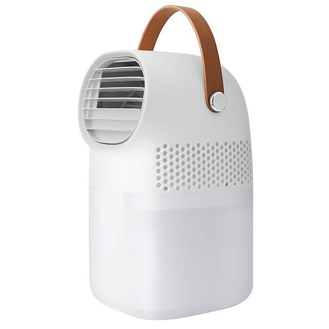 Mini portable air conditioner humidifier purifier usb air cooler fan desktop small air conditioning