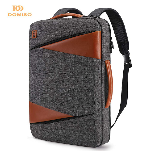 domiso multi-use laptop sleeve with handle for 14  15.6  17  inch notebook bag shockproof laptop bag waterproof computer bag