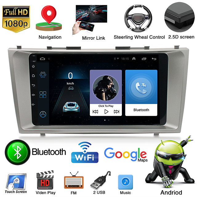 cross-border wholesale suitable for toyota 09 meirui navigator smart android big screen reversing image all-in-one machine