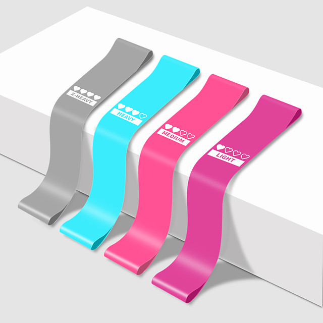 Yoga Rally Band Rally Ring Multifunctional Resistance Band Stretch Band Fitness Shaping Leg Ring Hip Ring Elastic Band