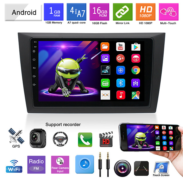 suitable for volkswagen golf 6 android navigation integrated machine android mp5 player gps navigation reversing image