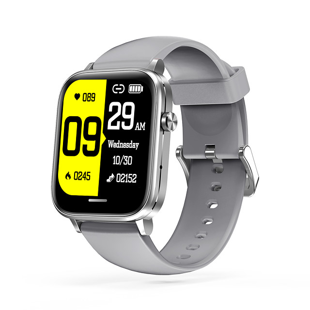 H7 Smartwatch for Apple/Android Phones, 1.54-inch Screen Sports Tracker Support Heart Rate/Blood Pressure Measure