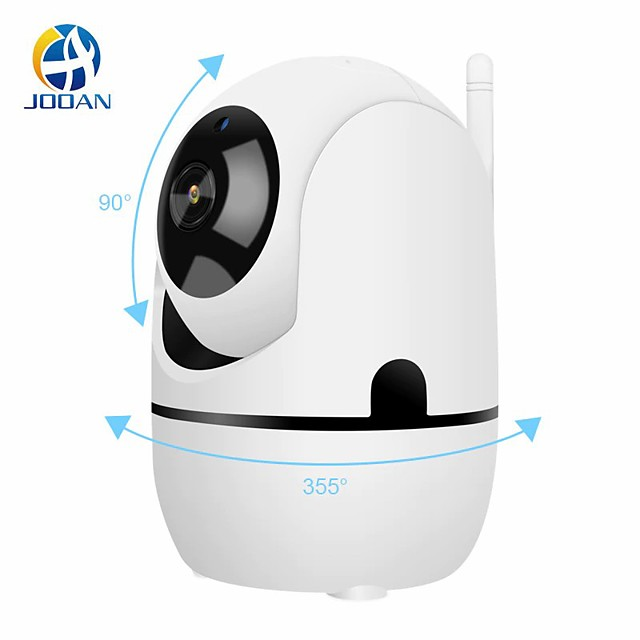 automatic tracking and rotation, wireless surveillance camera 1080p, remote viewing of family incumbent wifi network camera