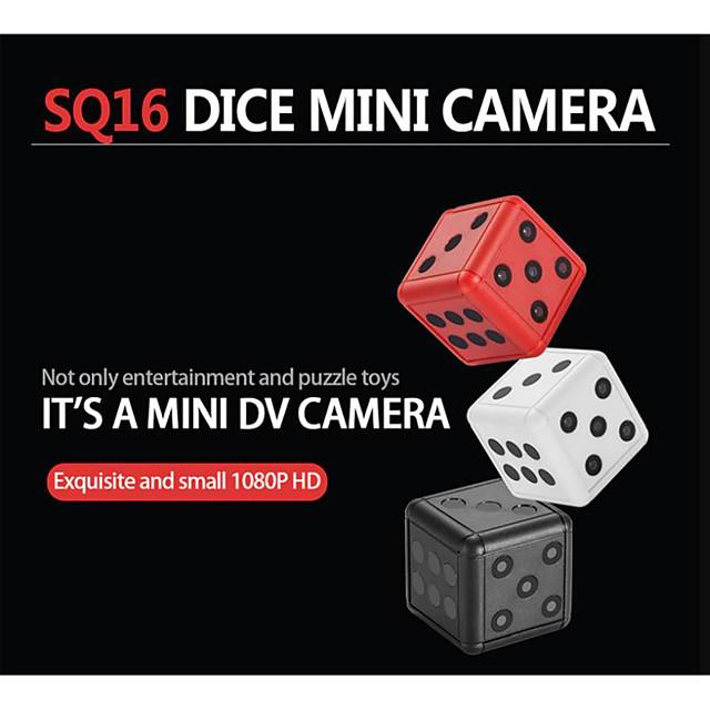 SQ16 Hd 1080P Mini Camera Camcorder Dice Micro Camera Infrared Motion Detection Dvr Video Voice Recorder Sports Cam Pk