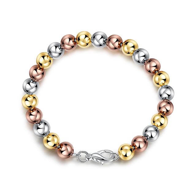 Women's Bead Bracelet Beads Fashion Fashion Alloy Bracelet Jewelry Rainbow For Anniversary Party Evening Date Festival