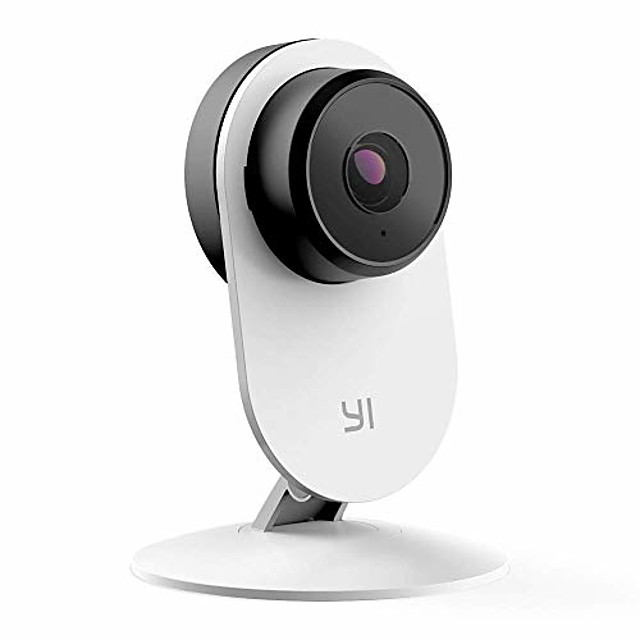 security home camera 3 baby monitor, 1080p wifi smart wireless indoor nanny ip cam with night vision, 2-way audio, motion detection, phone app, pet cat dog cam - compatible with alexa and google