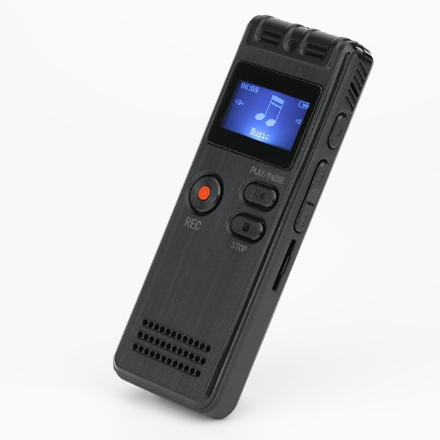 Voice Recorder 8GB USB Professional 96 Hours Dictaphone Digital Audio Voice Recorder With WAV MP3 Player