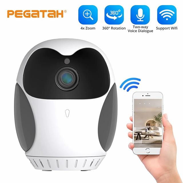 PTZ Wireless Mini IP Camera wifi camera smart home Video surveillance cameras with wifi Night Vision 1080p mini cameras Pet Cam