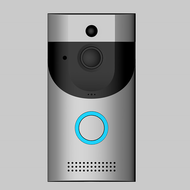 Wireless No Screen(output by APP) Hands-free 1280*720 Pixel One to Three video doorphone