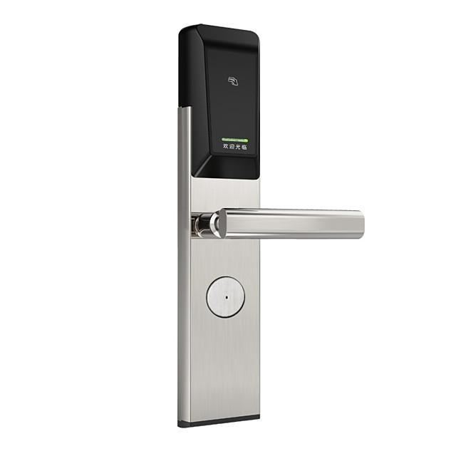 ホテル管理システムとスマートドアロックキーICカードロック解除電子スマートロックホテルドアロックシステム