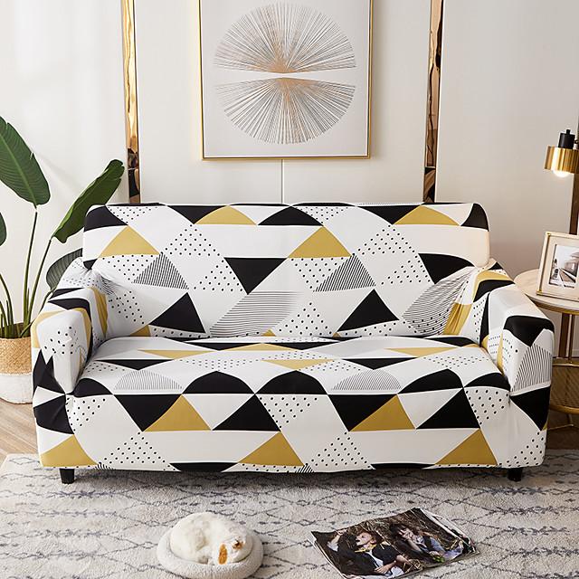 Sofa Cover Simple Elegan  Furniture Protector Soft Stretch Spandex Jacquard Fabric