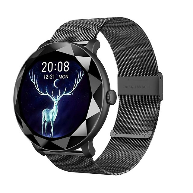 SMA H8 Smartwatch Fitness Watch Bluetooth 1.09 inch Screen IP 67 Waterproof Touch Screen Heart Rate Monitor Timer Stopwatch Pedometer 39mm Watch Case for Android iOS Men Women / Sports / Long Standby