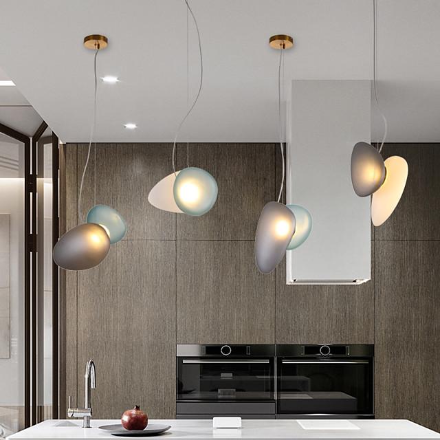 LED Pendant Light Bedside Lamp 42 cm Single Design Glass LED Nordic Style 110-240 V