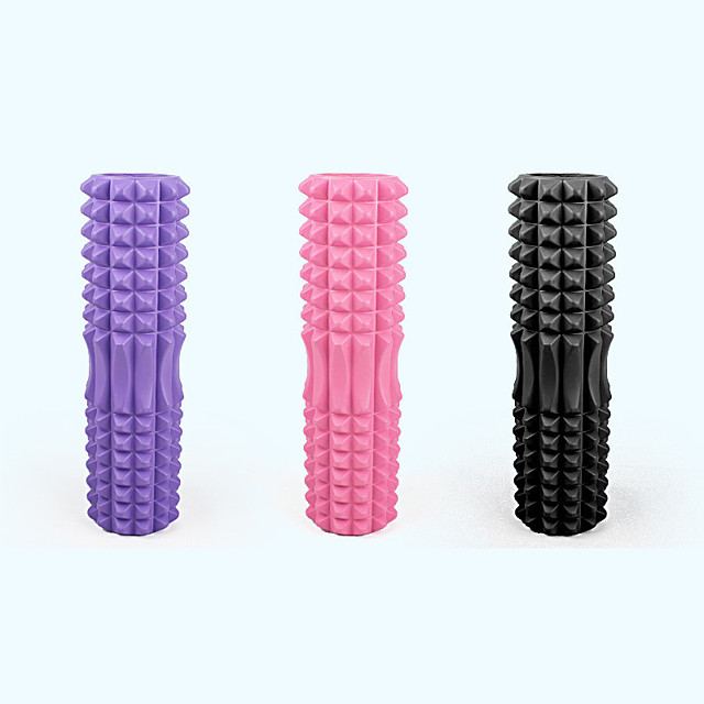 Foam Roller 45cm Crescent Yoga Column Fitness Massage Stick Muscle Relaxation Stick Yoga Column