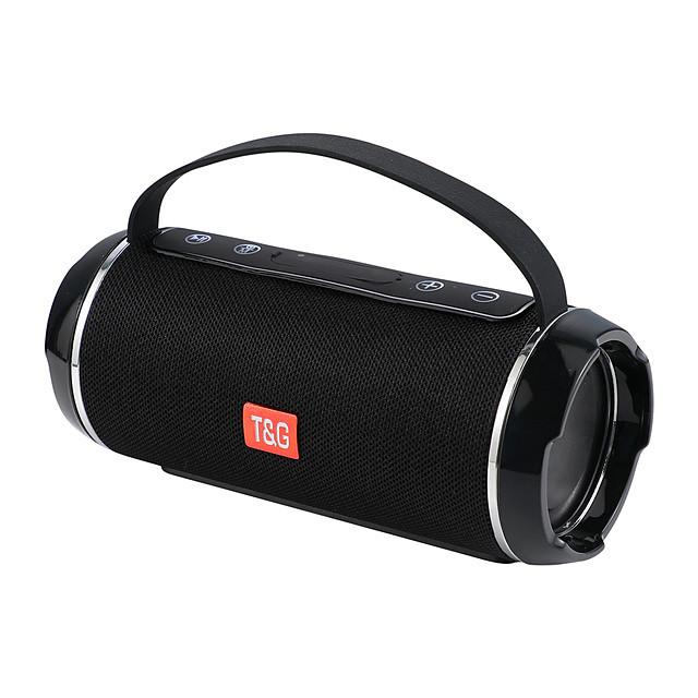 Portable Speaker Waterproof Wireless Bluetooth Column Bass Hifi Soundbar Surround Subwoofer Support Usb Aux Fm Radio