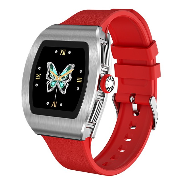 M13 Smartwatch for iPhone/ Android Phones, Water-resistant Sports Tracker Support Heart Rate/Blood Pressure Measure