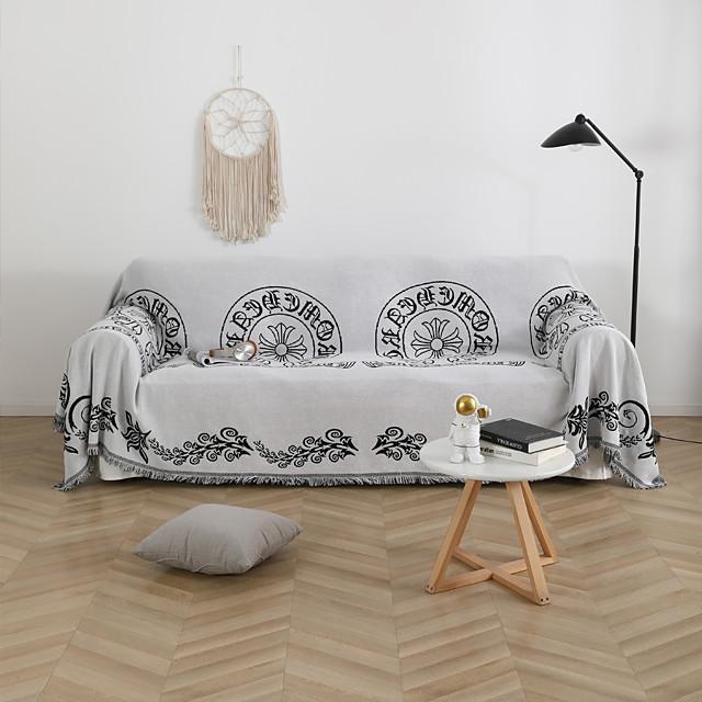 cuscino per divano a copertura totale alla moda in stile nordico quattro stagioni universale antiscivolo asciugamano di stoffa a doppia faccia di fascia alta asciugamano universale per divano a