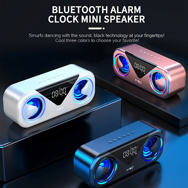 H9 Luidspreker voor buiten Luidsprekers Bluetooth 5.0 Draagbaar Spreker Voor Pc, notebooks en laptops Mobiele telefoon
