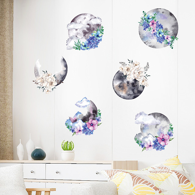 Wall Sticker Chinese Style Ink Painting Art DIY Bedroom Porch Wall Beautification Decorative Wall Sticker