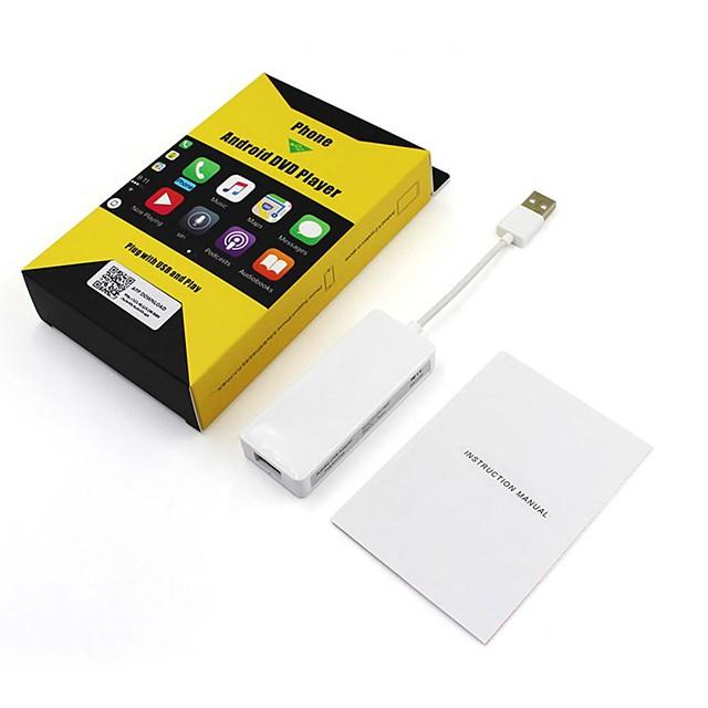 carpaly-C1 1 Din En tablero reproductor de DVD / Coche MP5 Player / Navegador GPS para coche GPS / Cuatro nucleos para Universal MicroUSB Apoyo