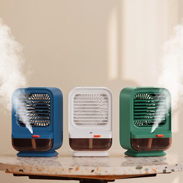 usb mini bærbar klimaanlegg luftkjøler luftfukter purifier ledet personlig personlig vifte luft kjølevifte