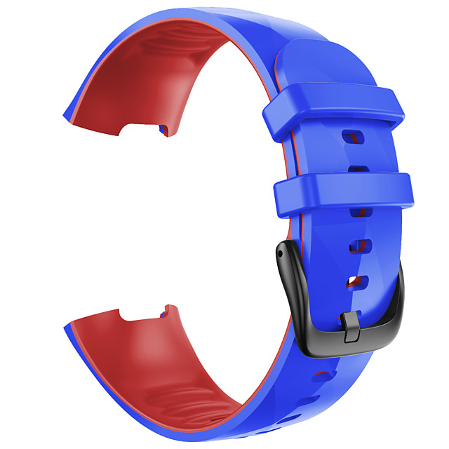 Watch Band for Fitbit Classic Buckle Silicone Wrist Strap for Fitbit charge3 Fitbit Charge 4