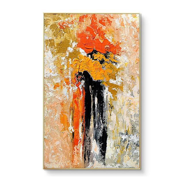 100% ציור ידני של אומן מקצועי אמנות קיר מצוירת ביד ציור שמן מופשט מודרני על בד לעיצוב הבית בסלון ללא מסגרת מרקם מופשט