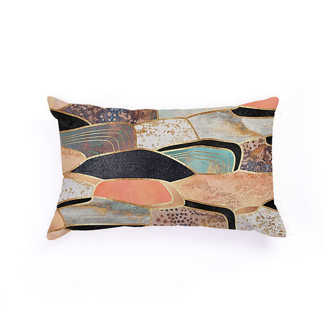 Double Side Cushion Cover 1PC Soft Decorative Square  Pillowcase for Sofa bedroom Car Chair Superior Quality Outdoor Cushion Patio Throw Pillow Covers for Garden Farmhouse Bench Couch