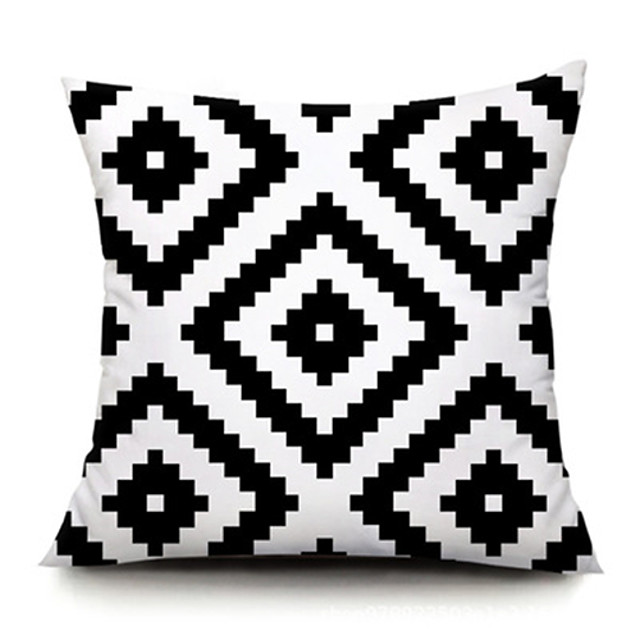 Double Side Cushion Cover 1PC Soft Decorative Square Throw Pillow Cover  Pillowcase for Sofa Bedroom Superior Quality Patio Throw Pillow Covers for Garden Farmhouse Bench Couch