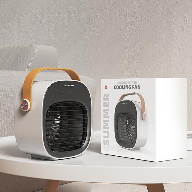Portable Desktop Air Conditioner Water Mist Fan Mini Air Cooler USB Charging 95AC