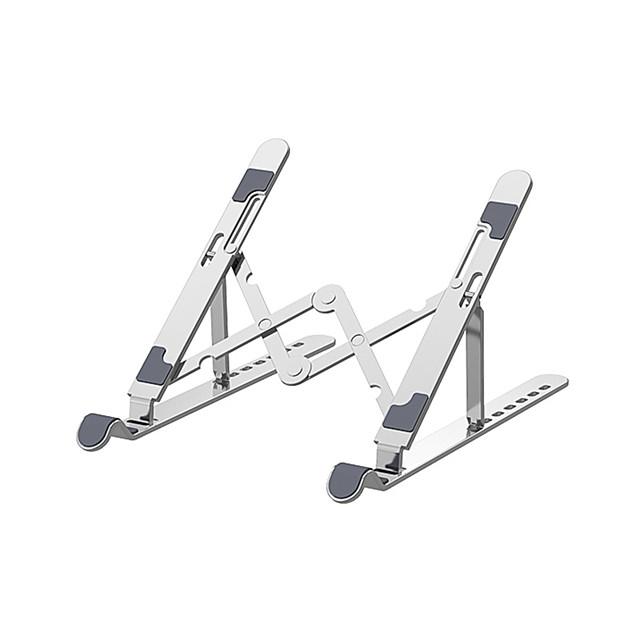 Seven Levels Of Height Adjustment Aluminum Alloy Tablet Bracket Mount Foldable Portable Laptop Stand Holder Rack
