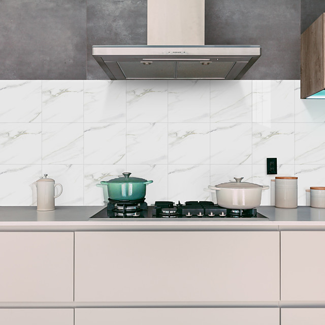 kovapalatut marmorilaatatarrat kristallivalkoinen graniittitaustakuva itsekiinnittyvät seinätarrat irrotettavat vedenpitävät tarrat kodin keittiö kylpyhuone valkoinen marmori tapetti