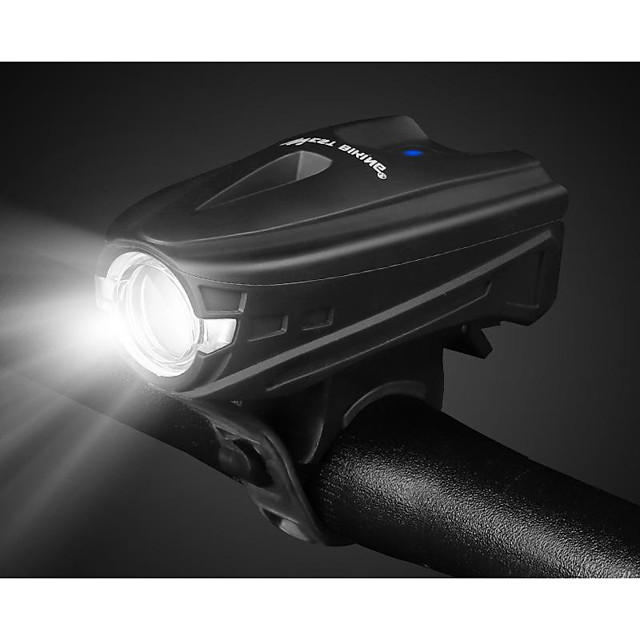 LED Bike Light Front Bike Light LED Bicycle Cycling Waterproof Smart Induction Super Bright Durable Rechargeable Li-Ion Battery 250 lm USB White Camping / Hiking / Caving Everyday Use Cycling / Bike