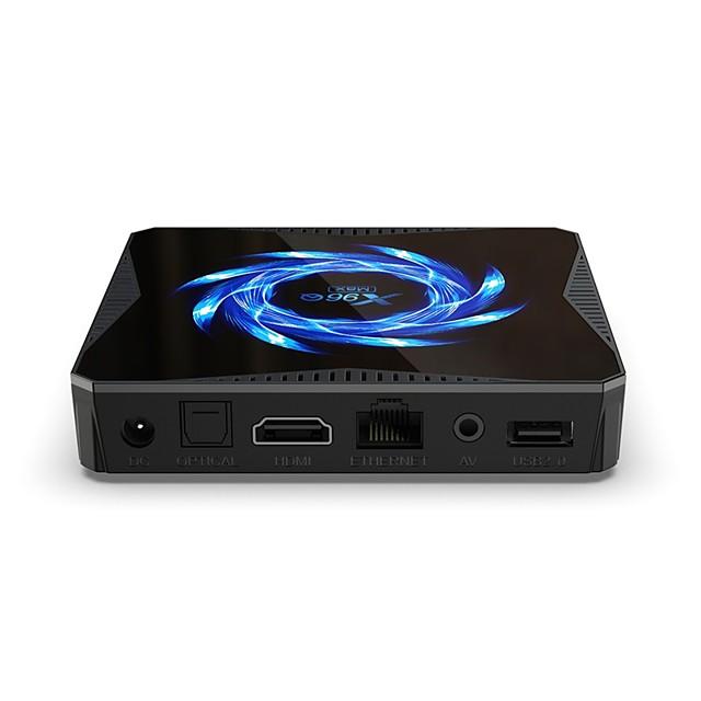 Smart TV Box Android 10.0 TV Box X96QMAX Bluetooth 4.2  4K Support H.265 Cortex-A53 4GB 64GB 32GB