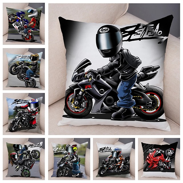 Double Side Cushion Cover 1PC Soft Decorative Square Throw Pillow Cover Cushion Case Pillowcase for Sofa Bedroom Superior Quality Machine Washable