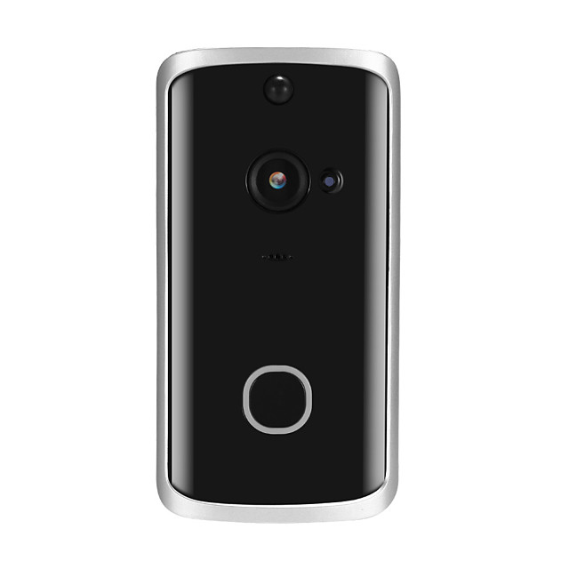 Smart HD 720P Visual Intercom DoorBell WiFi Smart Wireless Security Door Phone Remote Home Monitoring Night Vision