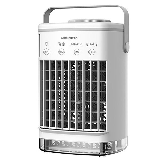 700ml vesisäiliö ilmastointilaite ilman kostutus mini kannettava ilmanjäähdytin usb henkilökohtainen tila jäähdytin tuuletin ilmanjäähdytys tuuletin ladattava tuuletin pöytä