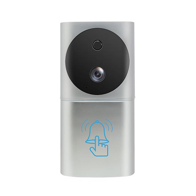 wifi video doorbell wireless door intercom battery door bell camera ring waterproof support TF card unlock from APP