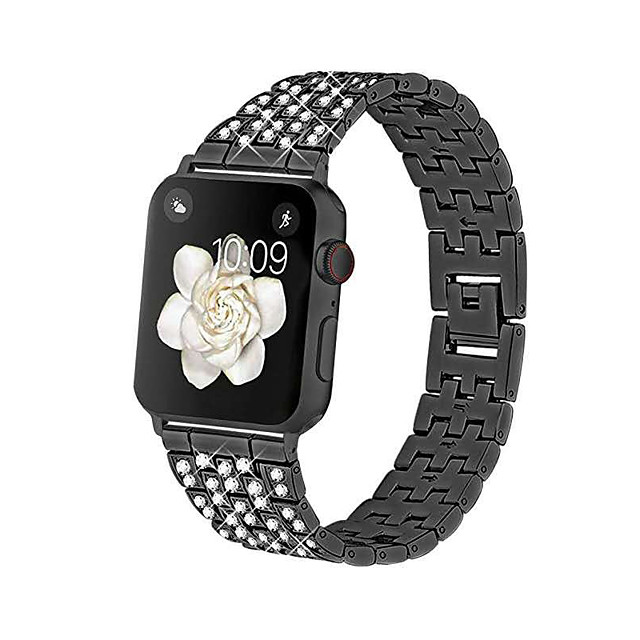 Smart Watch Band for Apple iWatch Jewelry Design Zinc alloy Replacement  Wrist Strap for Apple Watch Series SE / 6/5/4/3/2/1