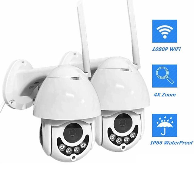 infrared dome wireless surveillance camera wifi smart monitor two-way voice intercom ptz rotation