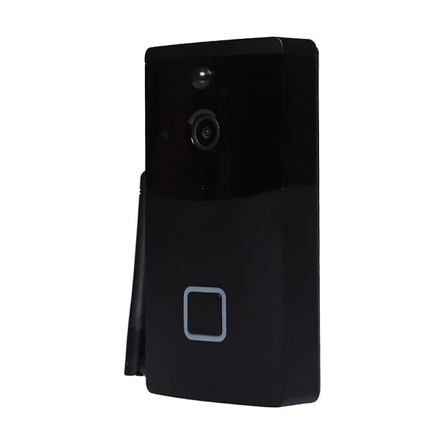 Wireless Intelligent Doorbell 1080P Camera WiFi Visual Video Phone Door Bell 2-way Audio Video Doorbell Infrared Night View