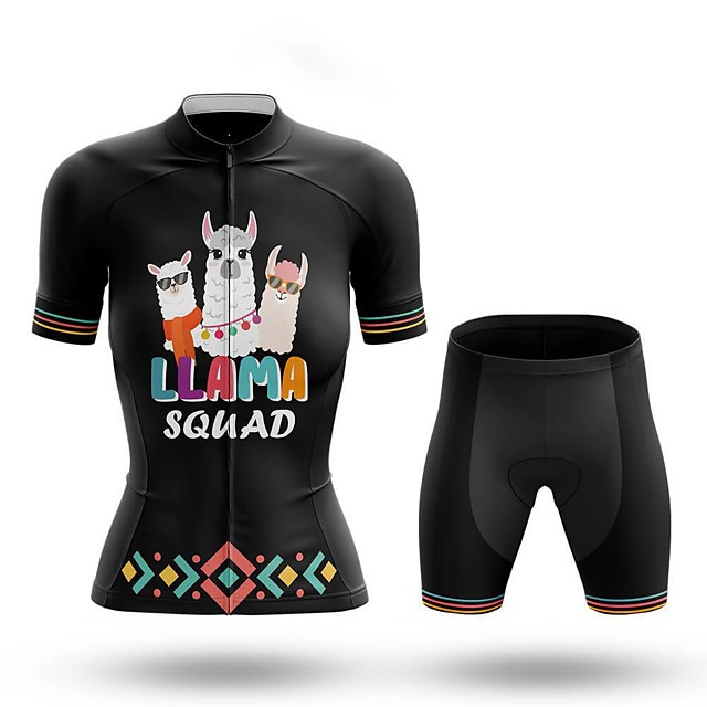 Women Bicycle Clothing Breathable Cycling Bike Jersey Cycling Pants Short Sleeve